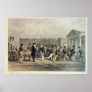 El curandero, 1857 póster