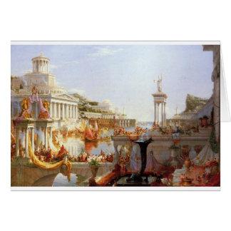 El curso del imperio: La consumación… Tarjeta De Felicitación