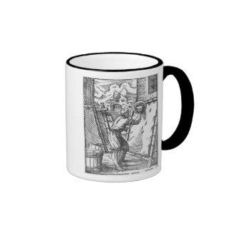 El curtidor tazas de café