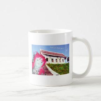 el cutedoll, sigue su dicha taza de café