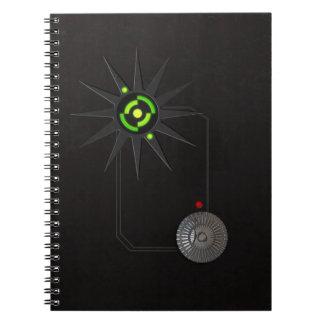 El Cyberpunk inspiró el cuaderno