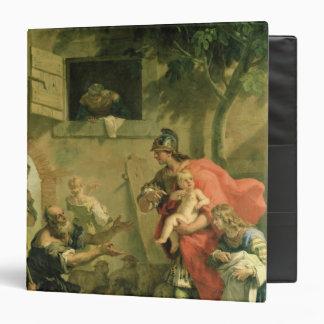 """El Cyrus infantil con el pastor Carpeta 1 1/2"""""""