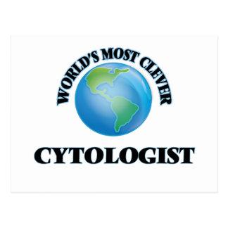 El Cytologist más listo del mundo Postal