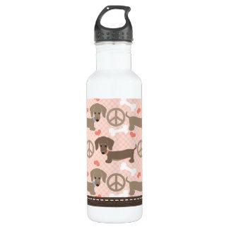 El Dachshund BPA de los Doxies del amor de la paz