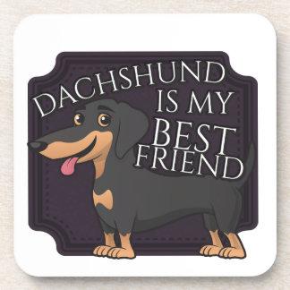 El Dachshund es mi mejor amigo Posavaso