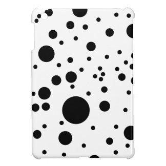 El Dalmatian negro y blanco lindo mancha la mini c
