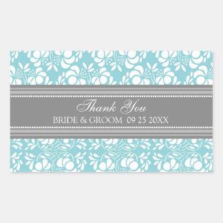 El damasco del gris azul le agradece las etiquetas rectangular altavoces