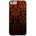 El damasco del Victorian, ornamentos, remolina - Funda De iPhone 6 Plus Barely There