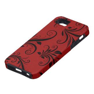 El damasco del Victorian, ornamentos, remolina - iPhone 5 Cárcasas