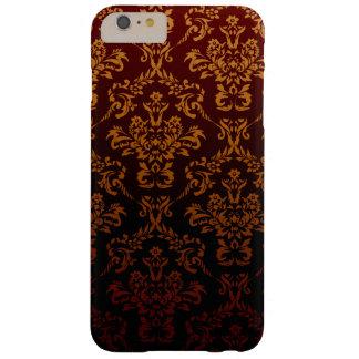 El damasco del Victorian, ornamentos, remolina - Funda Para iPhone 6 Plus Barely There