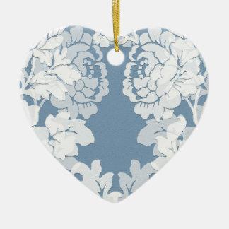 el damasco - jardín secreto - Victorian diseñó el Adorno De Cerámica En Forma De Corazón