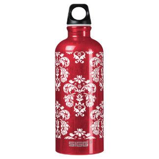 El damasco rojo y blanco BPA libera