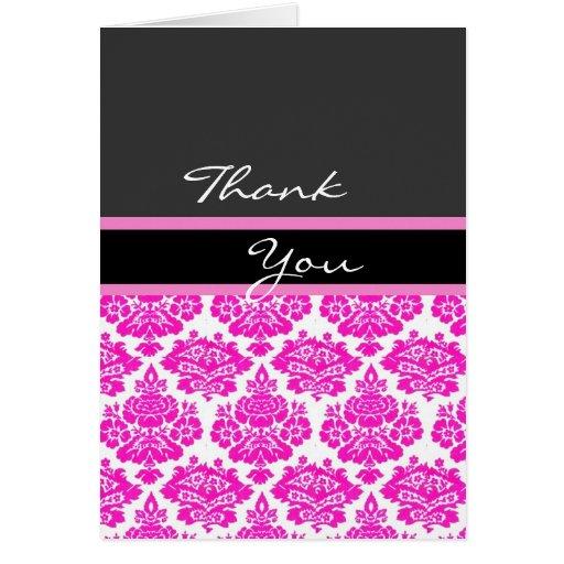 el damasco rosado le agradece tarjeta de nota