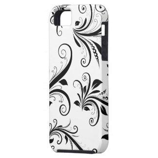 El damasco veneciano, ornamentos, remolina - iPhone 5 carcasa