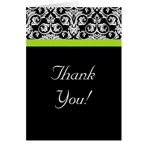 El damasco verde negro/blanco/chartreuse le agrade felicitaciones