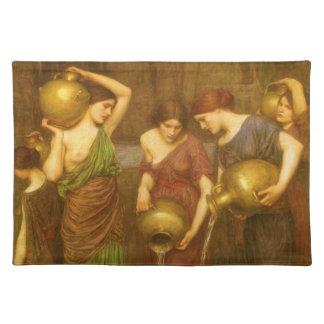 El Danaides de John William Waterhouse Manteles Individuales