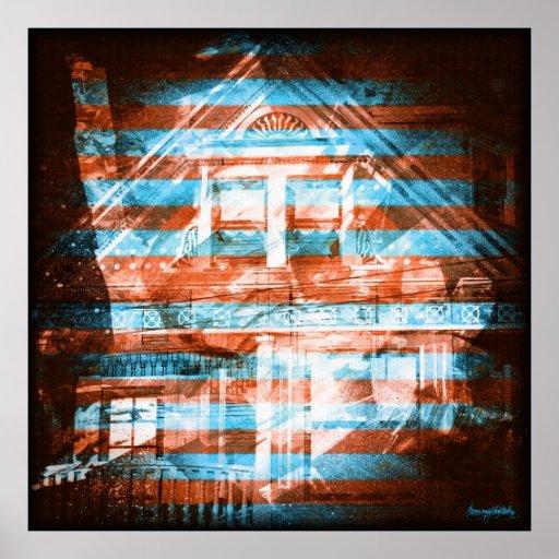 el darkside: casas del victorian de San Francisco Impresiones
