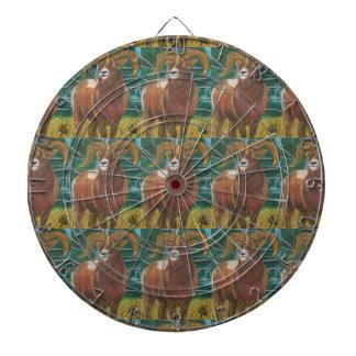 El dartboard del MACHO Tablero Dardos