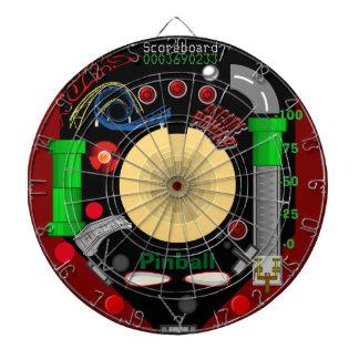 ¡El Dartboard del pinball del laberinto!