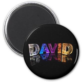 El David conocido en 3D se enciende (la fotografía Iman