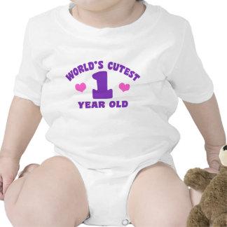 El de 1 año más lindo del mundo camisetas