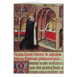EL de Aquinas'Libro de Horas de Alfonso Felicitación
