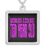 El de diez años más fresco de los 10mos mundos ros collar