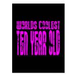 El de diez años más fresco de los 10mos mundos postal