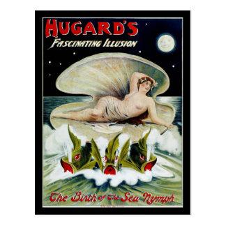 El ~ de Hugard el nacimiento de la ninfa de mar Postal