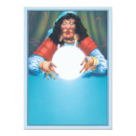 El © de la bola de cristal invitación 12,7 x 17,8 cm