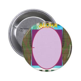 ¡El ~ de la hawaiana personaliza sus botones! Pin