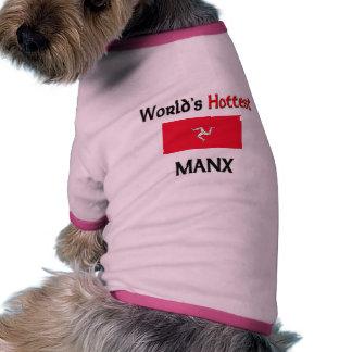 El de la Isla de Man más caliente del mundo Ropa De Mascota