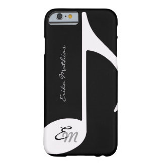 el ~ de la nota musical añade inicial funda para iPhone 6 barely there
