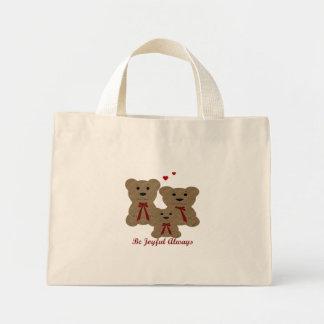 El ~ de las bendiciones del oso de peluche sea bolsa de tela pequeña
