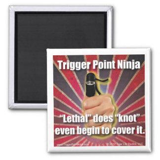 El ® de Ninja del punto del disparador es mortal Imán Para Frigorífico