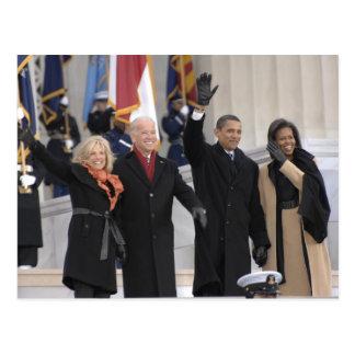 El ^ de Obamas el Bidens Tarjetas Postales