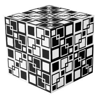 """El De op. sys.-arte blanco y negro ajusta 8"""" cubo"""