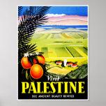 El ~ de Palestina de la visita considera la bellez Poster