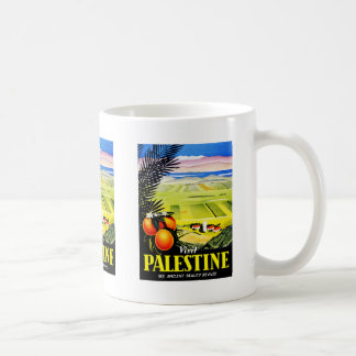El ~ de Palestina de la visita considera la bellez Tazas