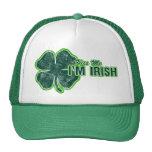 El ` de St Patrick me besa' gorra del Grunge del t