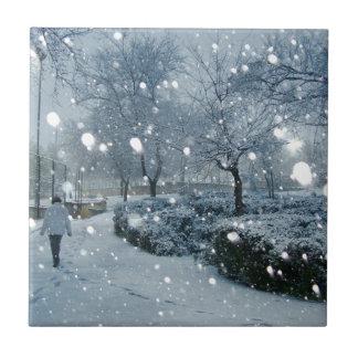 El debaixo de Neve de Jerusalém ningún auge hace I Azulejo Cuadrado Pequeño