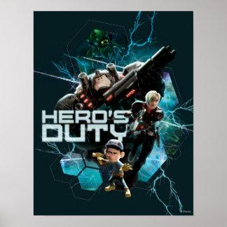 El deber 1 del héroe posters