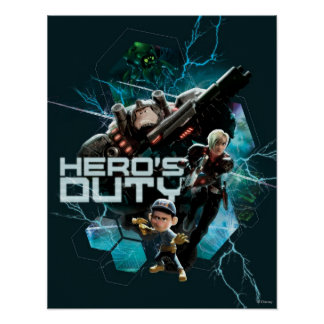 El deber 1 del héroe póster
