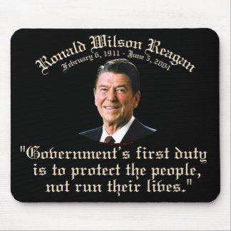 El deber del gobierno de Reagan Tapete De Ratones