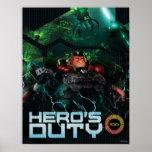 El deber del héroe póster