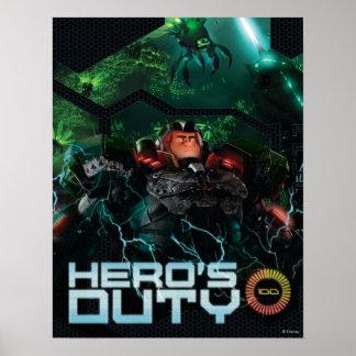 El deber del héroe poster
