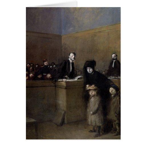 El débil y haber opreso, c.1910 felicitacion