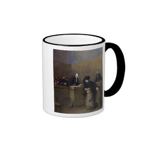 El débil y haber opreso, c.1910 taza de café