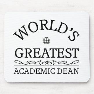 El decano académico más grande del mundo tapetes de ratones