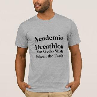 El Decathlon académico, los frikis heredará… Playera